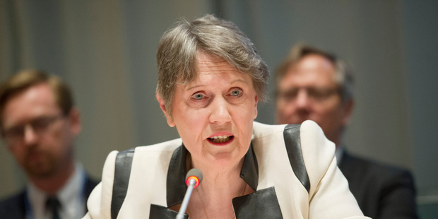Loading The Maori Party won't support the bid by former Prime Minister Helen Clark to become UN Secretary General - a stance strongly condemned by Labour MP Kelvin Davis and others. Picture: UN.