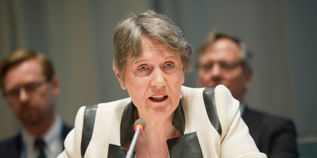 Both Maori Party co-leaders expressed support for Helen Clark's bid for the United Nation's top job in April - support that was dropped following a subsequent party meeting. Photo supplied.