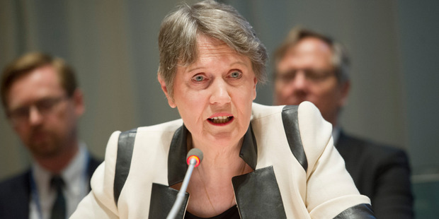 Loading Former Prime Minister Helen Clark finished sixth out of the 12 candidates in the first ballot for the position of  The United Nations Secretary General. Photo / Supplied