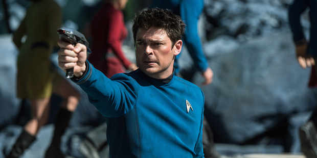 Karl Urban plays Bones in Star Trek Beyond. Photo / Supplied