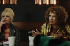 Joanna Lumley and Jennifer Saunders as Patsy and Edina in the film version of the hit television series.