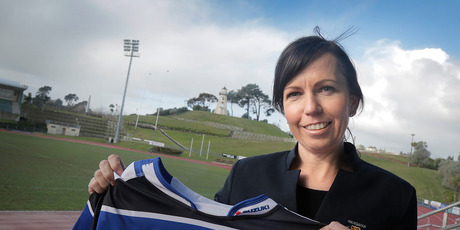 Wanganui Rugby CEO Bridget Belsham says a Ranfurly Shield win would be great for the region. Photo/ Bevan Conley