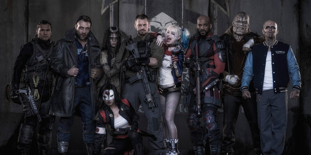 Loading The cast of Suicide Squad aren't immune to those harsh reviews. Photo / Supplied