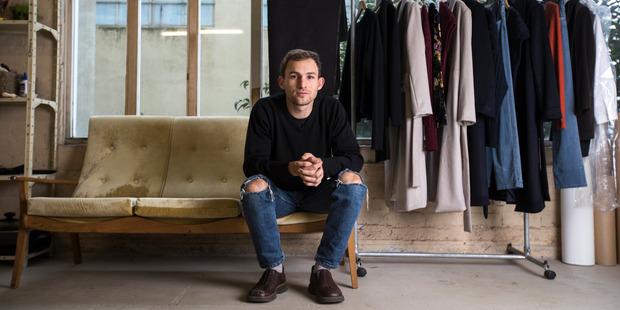 Auckland fashion designer Wynn Hamlyn Crawshaw says Fashion Week is a marketing tool. Photo / Greg Bowker