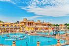 The famous Szechenyi Baths in Hungary's capital Budapest. Photo / 123RF