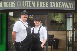 Jason Monahan and Ramsey Murray are happy to provide gluten free takeaways.