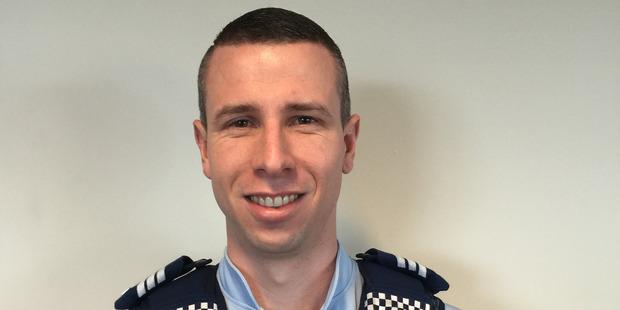 Sergeant Ryan Lilleby. Photo / Supplied