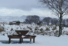Snow around Waiouru on the central plateau. Photo / Supplied