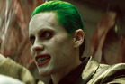 Jared Leto has no trouble evoking the The Joker's unhinged menace, which he starred as in Suicide Squad. Photo / AP
