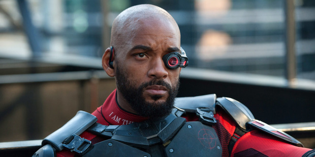 For the first time, Will Smith plays a villain in his latest film, Suicide Squad. Photo / AP