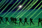 Artists perform during the opening ceremony for the 2016 Summer Olympics in Rio de Janeiro. Photo / AP