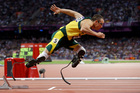 In this Sunday, Aug. 5, 2012 file photo South Africa's Oscar Pistorius starts in the men's semi-finals of the 400-meter in the Olympic Stadium at the 2012 Summer Olympics. Photo / AP.