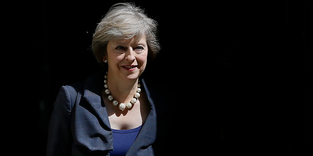 Theresa May is Britain's new Prime Minister. Photo / AP