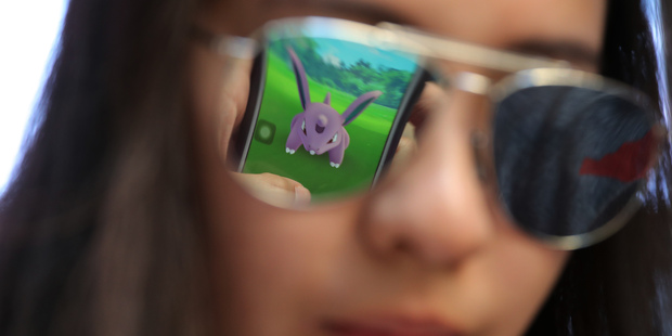 Beware the update - some Pokemon  Go players have been left in tears after their game reset. Photo / AP