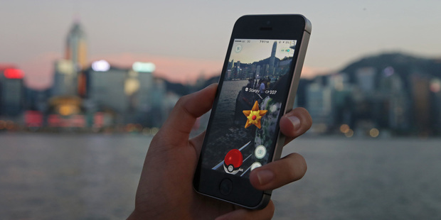 Pokemon Go is an app that allows you to catch digital creatures around the world. Photo / AP