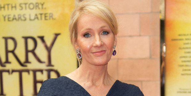 Writer J.K. Rowling at gala performance of Harry Potter and the Cursed Child, at the Palace Theatre in central London. Photo / AP