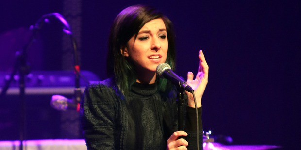 Loading The Teen Choice Awards failed to mention Christina Grimmie, leaving fans angry. Photo / AP