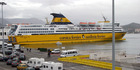 The incident took place on a Corsica ferry. Photo / AP