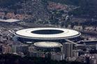 Maracana Stadium in Rio de Janeiro, Brazil. Photo / AP