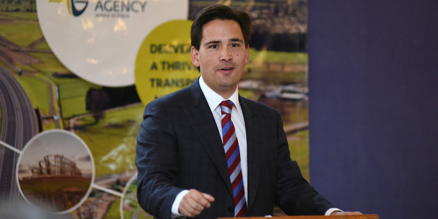 Transport Minister Simon Bridges.