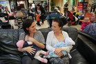 Mums getting together at Bayfair Shopping Centre at a past Big Latch On event. Photo/file