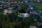 Aerial view of the clifftop mansion and grounds of Graeme Hart in Glendowie. Photo / File
