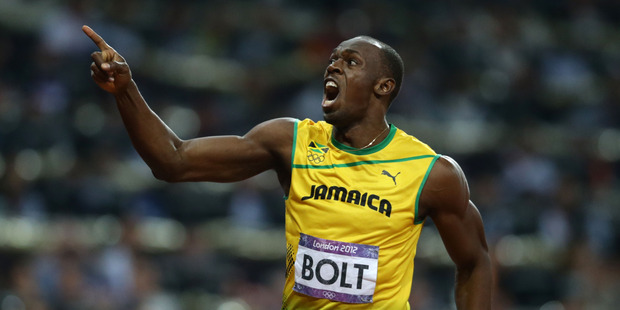 The fastest man in history, Jamaica's Usain Bolt. Photo / AP