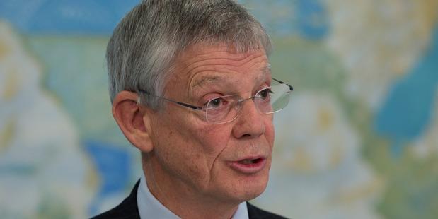 Loading Reserve Bank Governor Graeme Wheeler. Photo / File