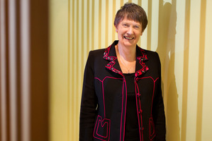 Helen Clark pioneered the pant suit for top girls, once greeting the Queen dressed like a pantomime prince.