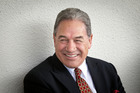 Winston Peters accuses the Maori Party of petty grandstanding over Helen Clark. Photo / Andrew Warner