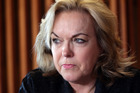 Police Minister Judith Collins said long-term crime rates were down, and the Government was on track to meet its target of 20 per cent less crime by 2018. Photo / Doug Sherring