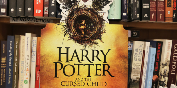 The book Harry Potter and the Cursed Child is out now. Photo / Doug Sherring