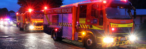 Large fire at Invercargill business