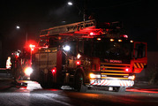 More than 25 firefighters were called to help get the flames under control. Photo / File