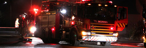 Farming business destroyed in fire
