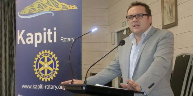 Porirua mayor Nick Leggett is running for the Wellington top job. Photo / File