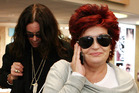 Sharon Osbourne, wife and Manager of rocker Ozzy Osbourne. Photo / NZH