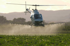 Low-level spraying is a frequent occurrence around this time of year.
