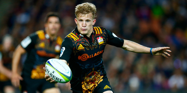 Damian McKenzie has re-signed with Waikato to play in the Mitre 10 Cup. Photo/Getty Images