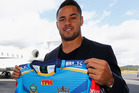The Jarryd Hayne plane is about to take off again on the Gold Coast. Photo / Getty Images