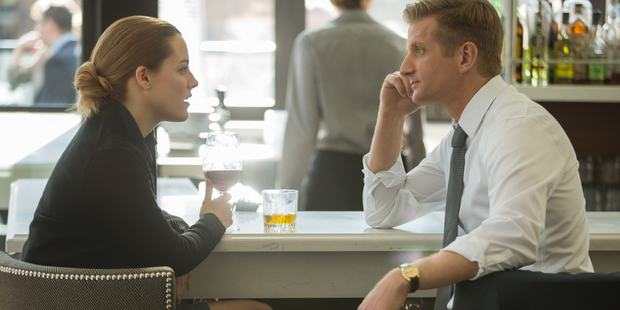 Paul Sparks and Riley Keough in new television series, The Girlfriend Experience.
