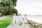 Heading off to Le Diner En Blanc. Photos/Swift and Click
