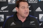 All Blacks coach Steve Hansen stand-up, commenting on training, Super Rugby and the Chiefs stripper scandal.
