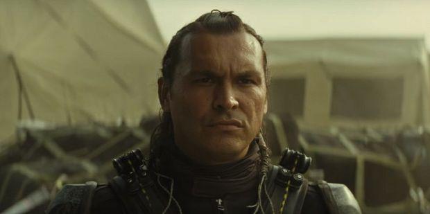 Adam Beach as Slipknot in Suicide Squad.