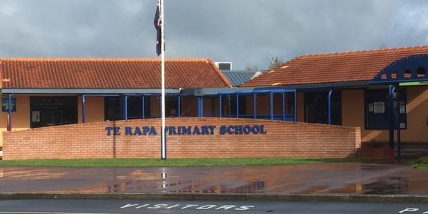 The boy walked to Te Rapa School after he was hit by a car. Photo / Belinda Feek