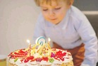 The cake is the central feature of any birthday celebration.