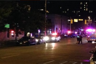 Postings on Austin police's verified Facebook and Twitter page just before 3 a.m. announced the incident and warned people to stay away from downtown.