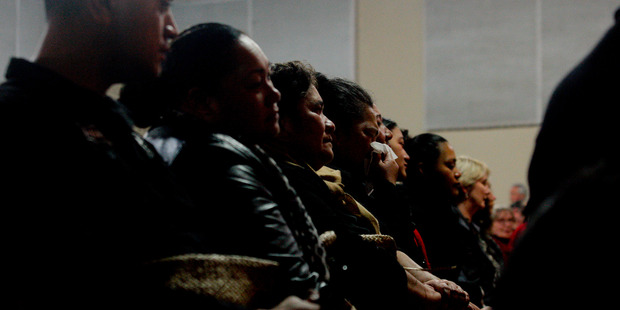 Family of Sitiveni Vaipulu, 44, and his son Koli, 21, mourned the loss of the two men last night. Photo/Ruth Keber
