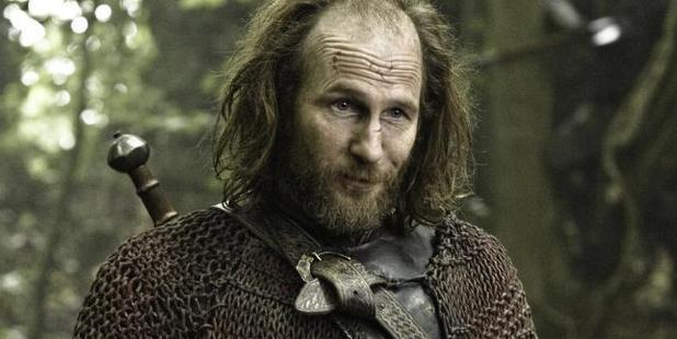Game Of Thones character Thoros of Myr.