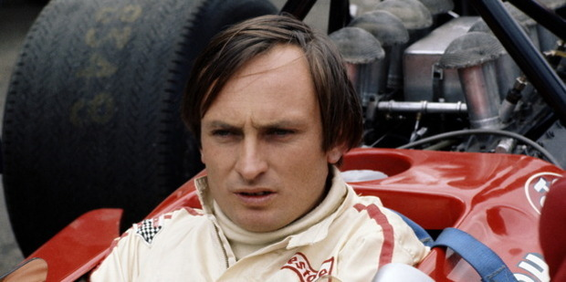 Loading Chris Amon before the start of the British Grand Prix 1970. Photo / Getty Images